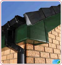 green upvc fascias and soffits